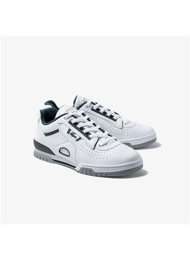 Lacoste Lacoste M89 Og 0121 1 Sma Erkek Deri Beyaz - Yeşil Sneaker Beyaz